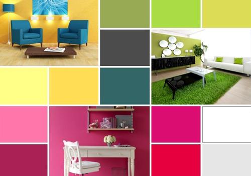 5 combina ii extraordinare de culori pentru camera de zi for Interior design banner images